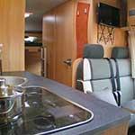 avtodom Dethleffs Orange Camp 8, kuhinja